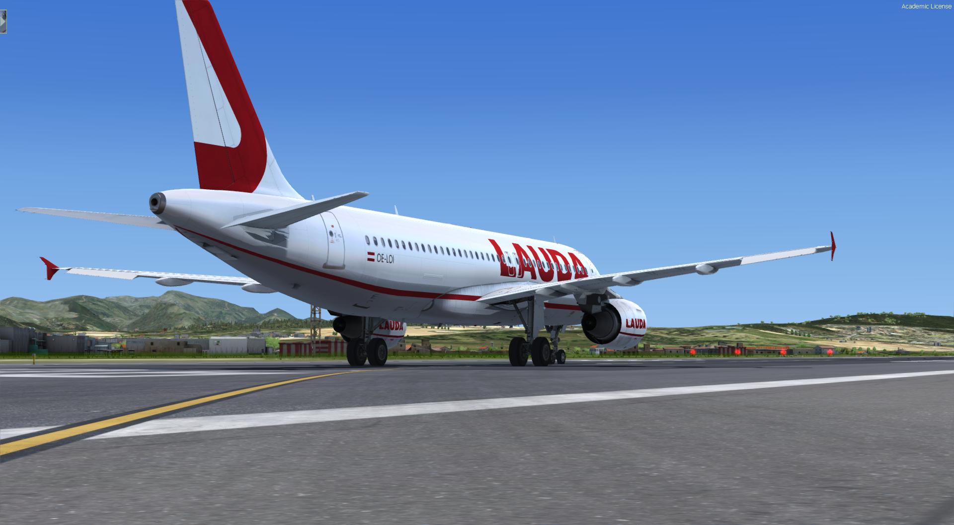 A320 CFM LAUDA