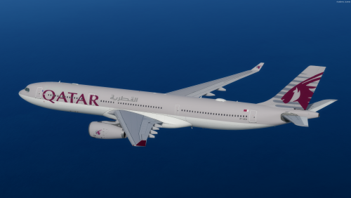 Qatar Airways A330-300 A7-AEO Livery