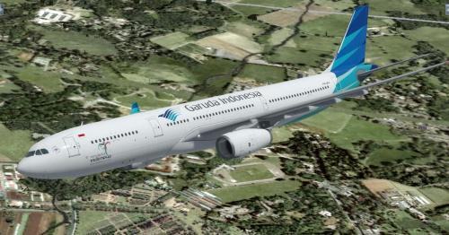Garuda Indonesia A330-343 Package